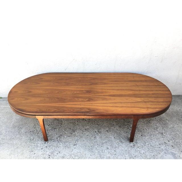 Mid-Century Walnut Coffee Table - Image 9 of 11
