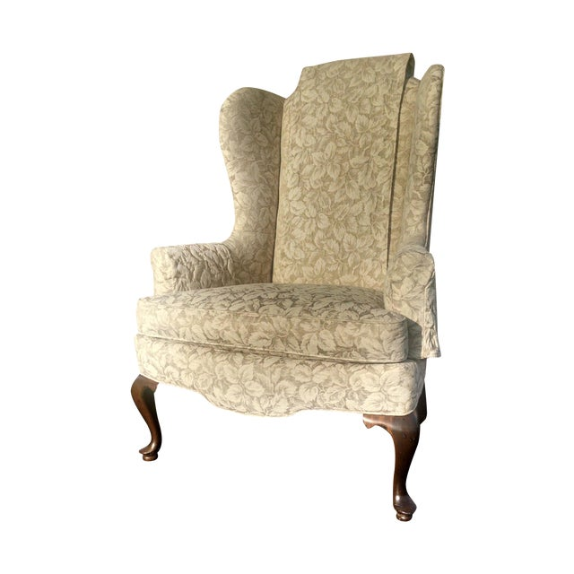 Vintage Wingback Chair - Image 1 of 3