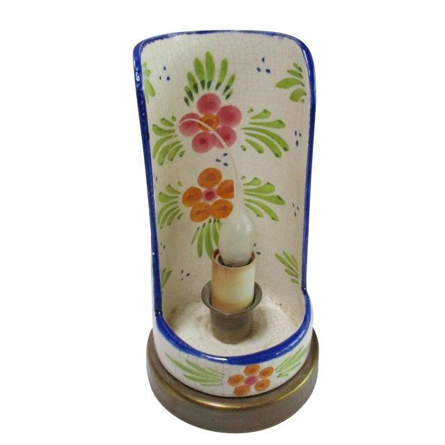 Boho Glam Ceramic Antique Candle Light - Image 1 of 10