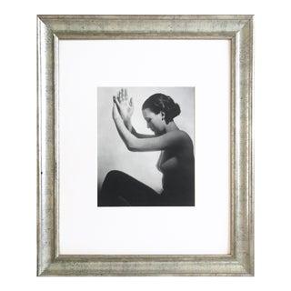 Vintage Art Deco Nude Photogravure by John Everard