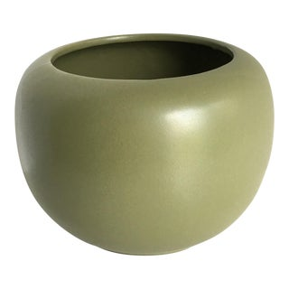 Vintage McCoy Green Planter