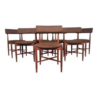 Mid-Century Modern G Plan Fresco Teak Dining Chairs - Set of 8