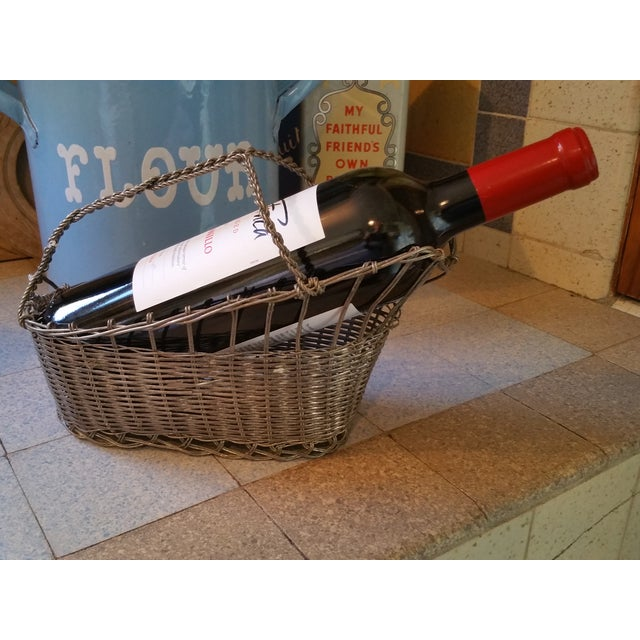 French Silver Basket Wine Pourer - Image 5 of 5