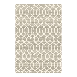 LATTICE GRAY RUG 5'3''X 7'7''