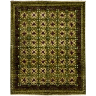 "Suzani Hand Knotted Area Rug - 8'3"" X 10'3"""