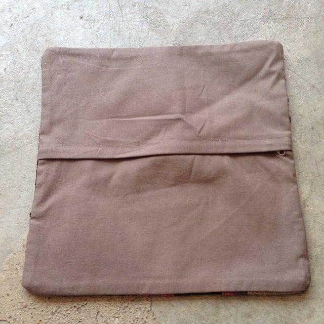 Image of Vintage Pink & Tan Wool Kilim Pillow