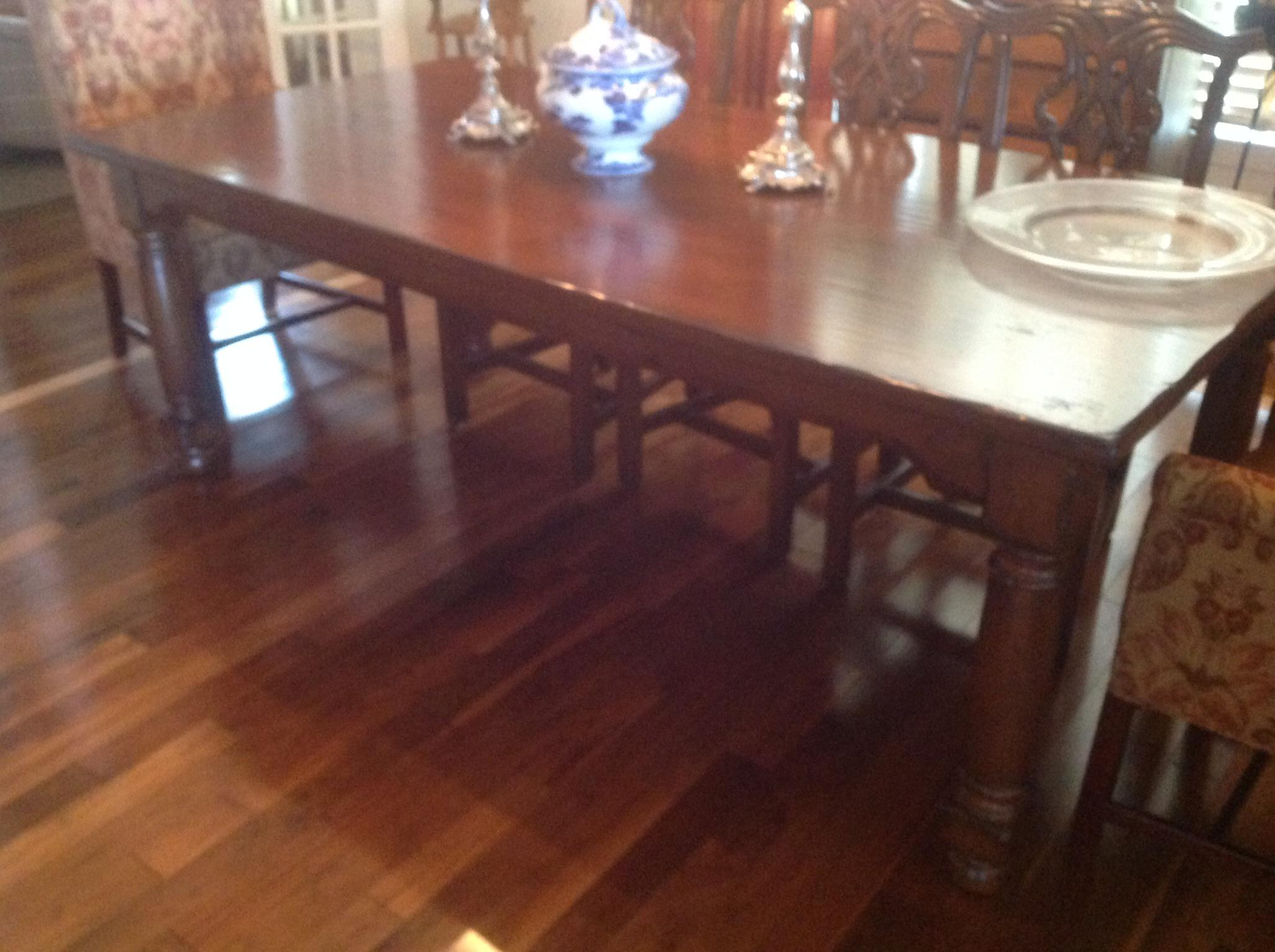 Woodland Furniture Alder Wood Dining Table   Image 5 Of 8
