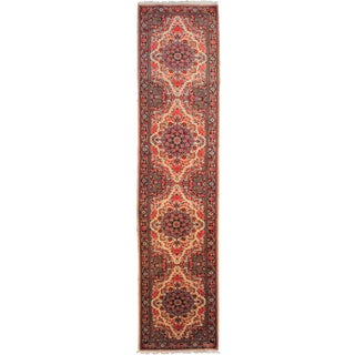 "Hand-Knotted Antique Runner - 10'3"" x 2'5"""