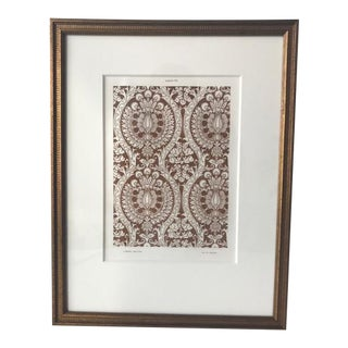 Framed Parisian Antique Bookplate Prints