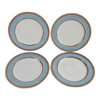 Antique Minton Dinner Plates - Set of 4