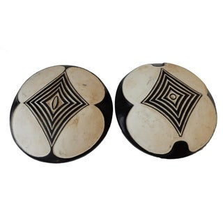 African Bamileke Shields from Cameroon - A Pair
