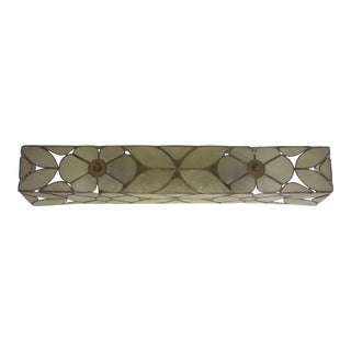 Capiz Shell Vanity Light