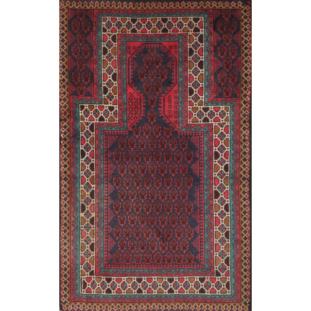 """Pasargad Balouch Collection Rug - 2'9"""" X 4'6"""" - Image 1 of 2"""
