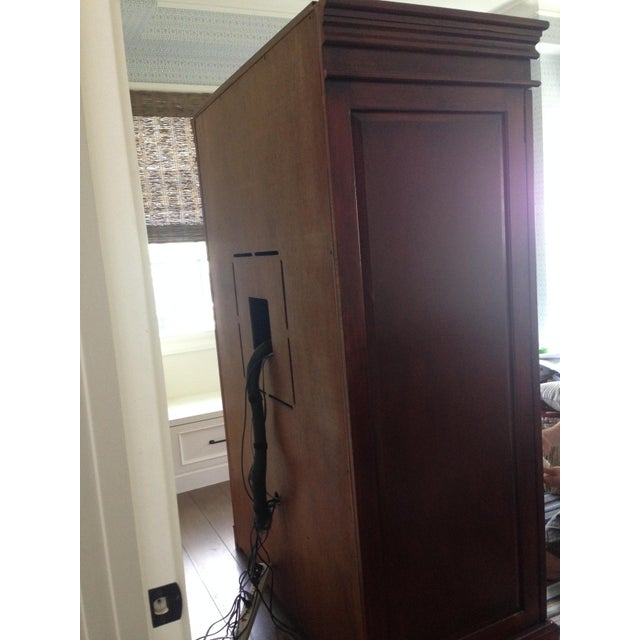 Classic Wood Armoire/Wardrobe - Image 9 of 10