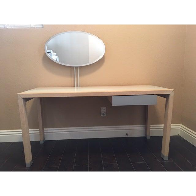 ligne roset lumeo vanity desk chairish. Black Bedroom Furniture Sets. Home Design Ideas