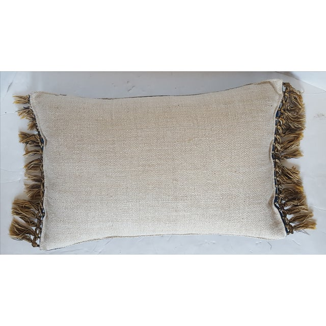 Image of French Embroidered Pillow