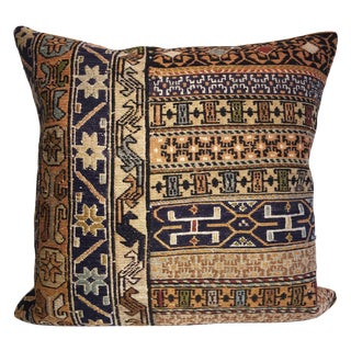 Vintage Egyptian Hand Loomed Wool Pillow