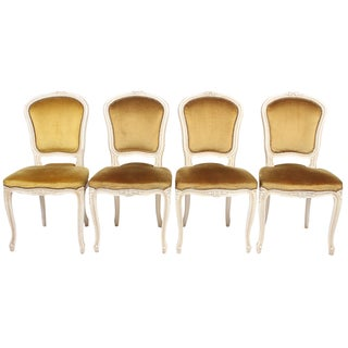 Louis XV-Style Chairs - Set of 4