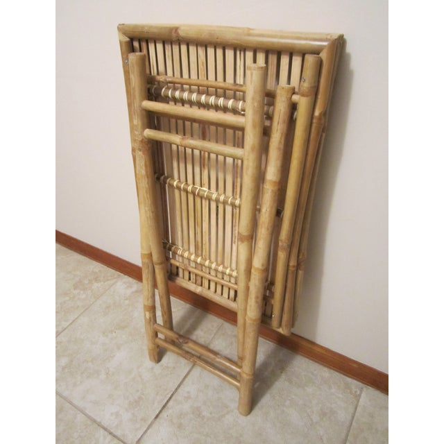 Bamboo & Rattan Table Tray - Image 11 of 11