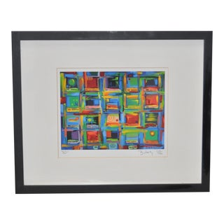 """Contemporary Color Print by Bukaty """"New Horizons"""" c.2005"""