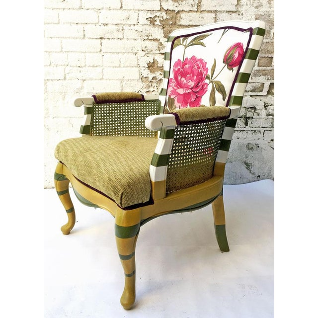 Floral Peony Chair - Image 3 of 5