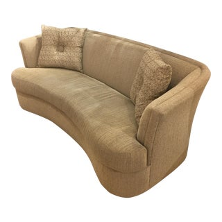 Brueners Contemporary Tan Sofa