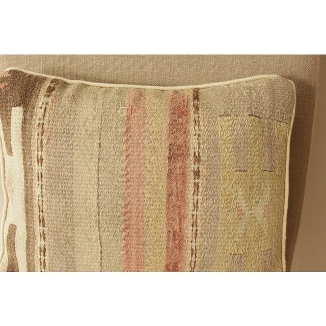 Image of Neutral Vintage Kilim Pillow