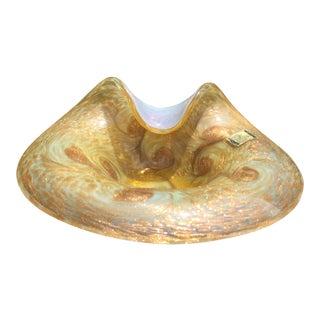 Mid-Century Modern Handblown Murano Glass Dish