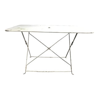 1880 Antique French Folding Garden Table