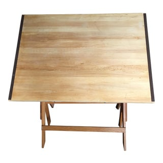 Architect's Drafting Table Wooden Desk