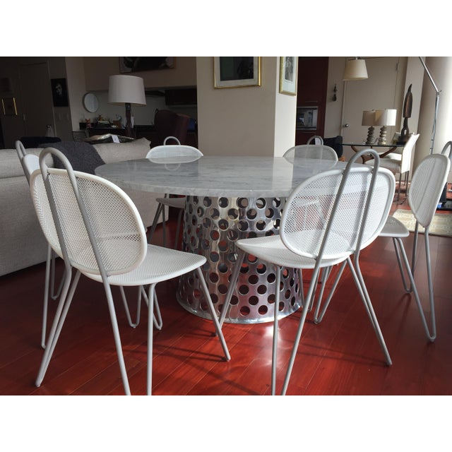Paola Navone Italian Dining Chairs - Set of 6 - Image 6 of 7