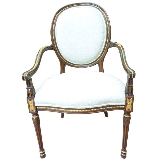 David Barrett Olga Arm Chairs - Set of 10 - Image 1 of 3