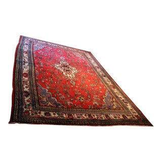 Hand Knotted Persian Area Rug - 5'11 x 10'3