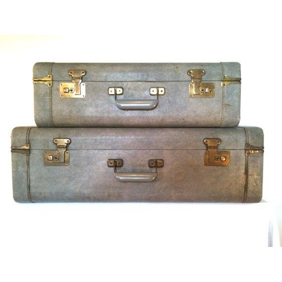1940s Light Blue Suitcase - Image 7 of 8