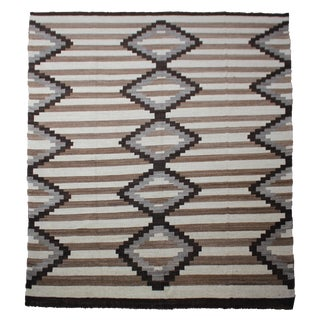 Hand Knotted Navajo Rug by Aara Rugs Inc. - 10′7″ × 14′1″