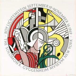 Roy Lichtenstein, Guggenheim Museum, 1969 Serigraph