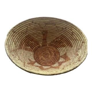 Vintage Native American Apache Pima Coil Basket