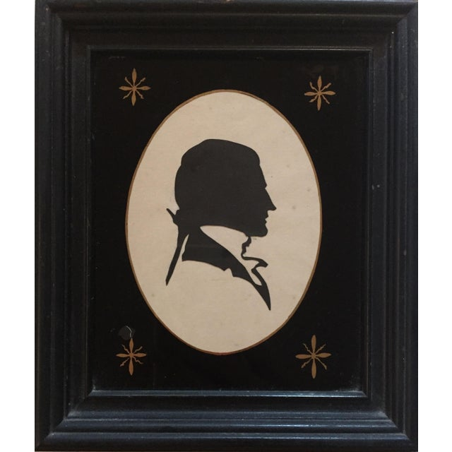19th-C. Portrait Silhouettes - A Pair - Image 4 of 6