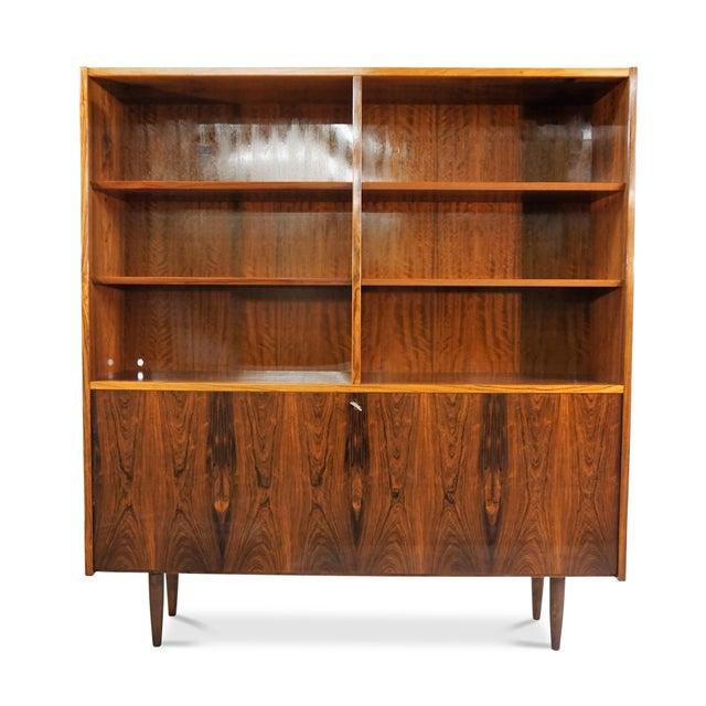 Original Danish Mid Century Hundevad Rosewood Bookcase - Image 2 of 9