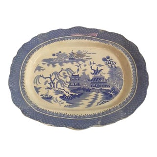 Antique English Traditional Platter