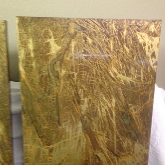 Copper Art Work Panels - A Pair - Image 4 of 9