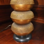 Image of Stacked Bronze Lamp by Paul Hansen
