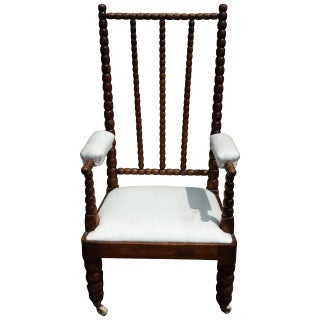Mid-Century Twisted Spanish Revival Arm Chair