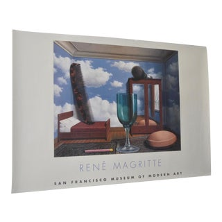 C.2000 Rene Magritte Exhibition Poster San Francisco Museum of Modern Art