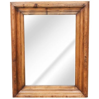 19th Century Pine Frame with Mirror