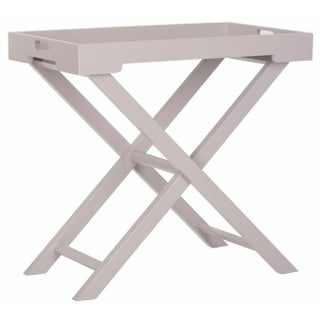 Accent Tray Table - Grey