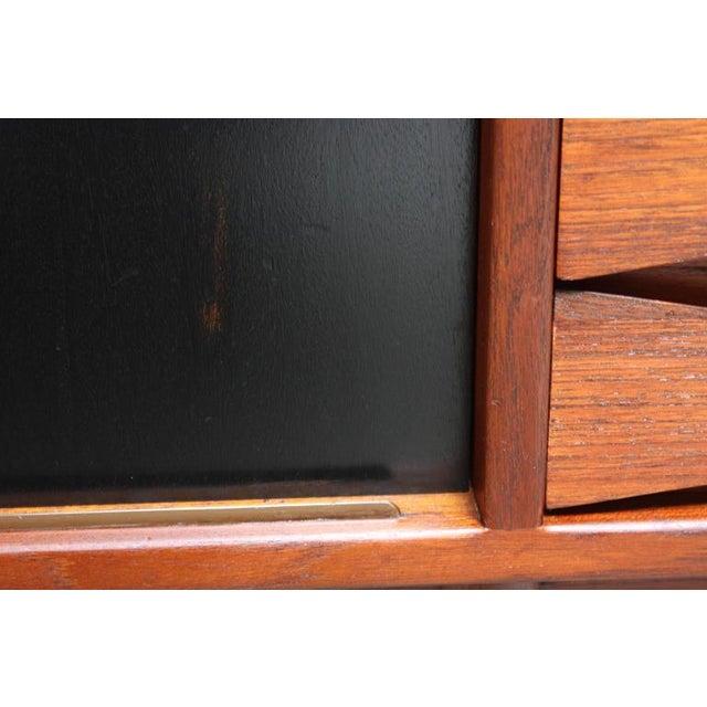Arne Vodder Teak Credenza with Reversible Doors - Image 6 of 11