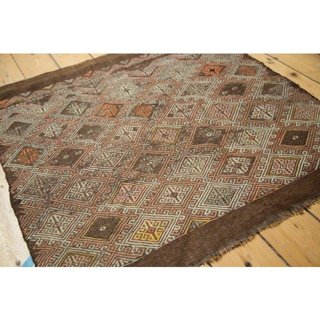 "Vintage Jijim Square Rug - 3'2"" x 3'5"" - Image 7 of 8"