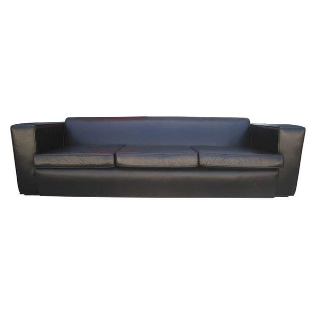 Aerodynamic Sofa in the Style of Paul Frankl - Image 2 of 6