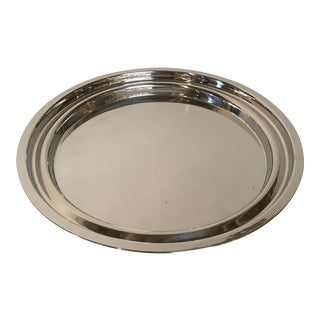Driade 'Appam I' Polished Stainless Steel Tray by Miki Astori